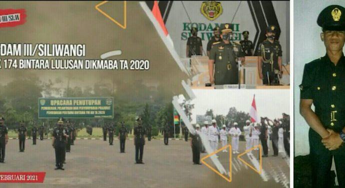 DOA DAN MUJIZAT   MENGHANTAR CITA-CITA DANY ROBERTO GULTOM RESMI DILANTIK MENJADI PRAJURIT TNI AD