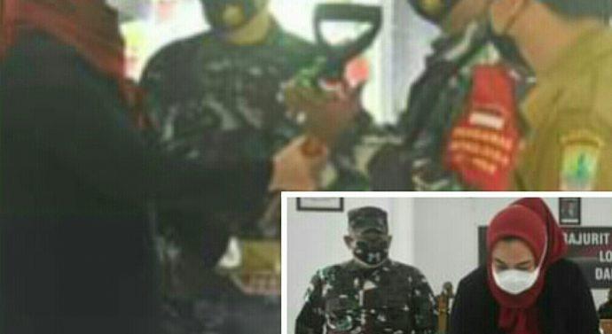 TNI MANUNGGAL MEMBANGUN DESA (TMMD) KE-110 TAHUN 2021 RESMI DIBUKA OLEH BUPATI KARAWANG
